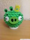 """Светильник """"Angry Birds - Король Свиней"""""""