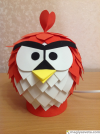 "Светильник ""Angry Birds - Red"""